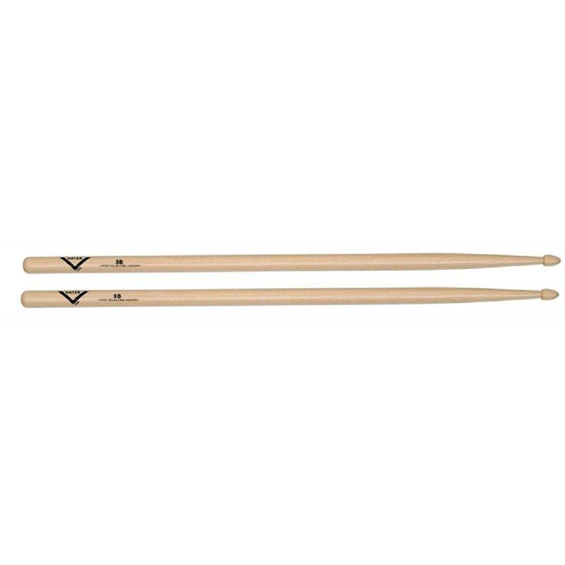 Vater Hickory Power 5B Sticks – Wood Tip
