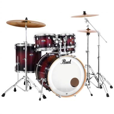 Pearl Decade Maple 20 Fusion 5pc Kit – Gloss Deep Red Burst