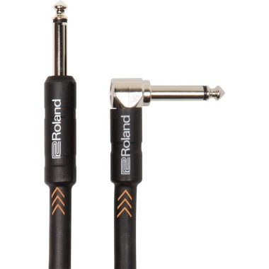 Roland Black Series – 20FT/6M ANGLED/STRAIGHT 1/4in JACK