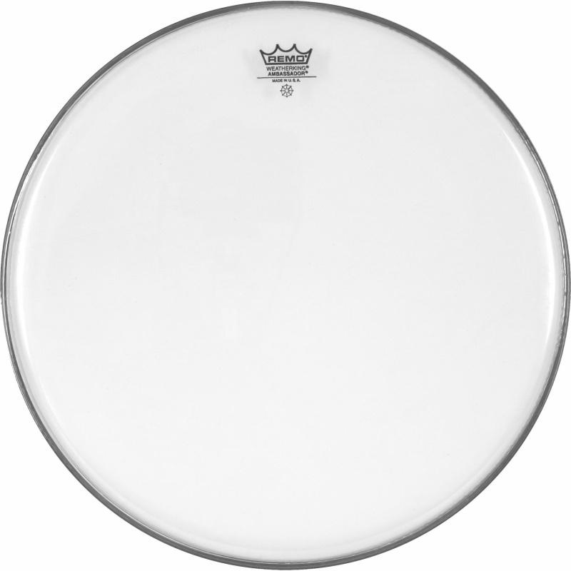 Remo Pre-International 11 7/8in Ambassador Clear Drum Head