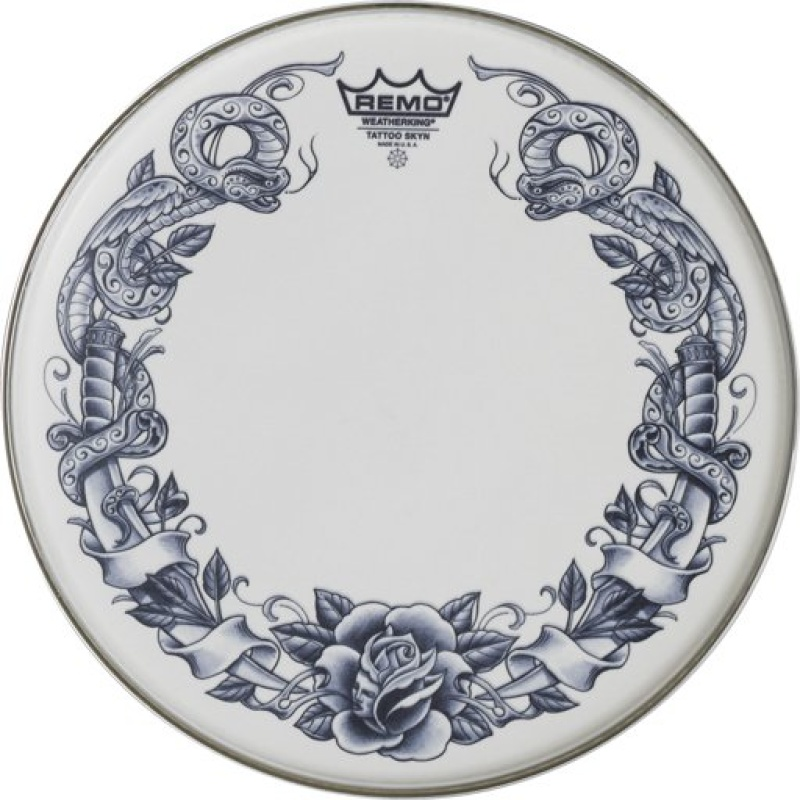Remo Tattoo Skyn 14in – Serpentrose Graphic