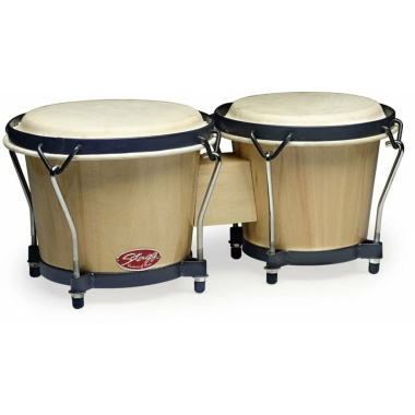 Stagg 6+7in Traditional Bongos – Natural