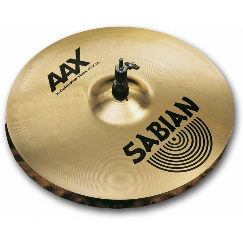 Sabian AAX 14in X-Celerator Hats – Natural