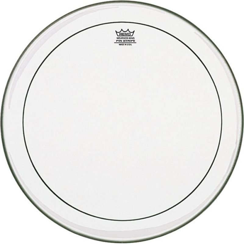 Remo Pinstripe Clear 18in Bass Drum Head