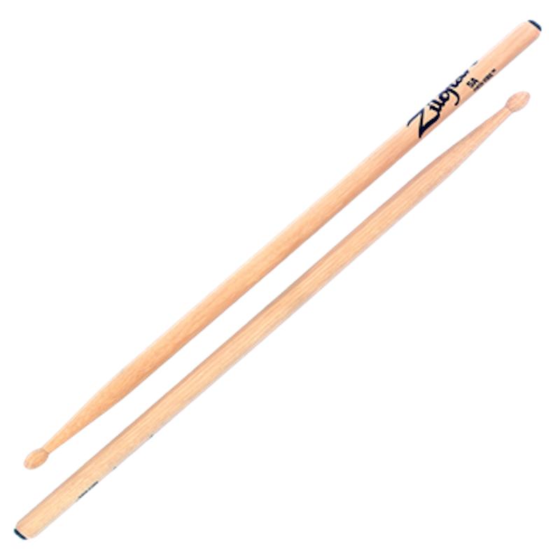 Zildjian Hickory 5A Anti-Vibe Sticks – Wood Tip