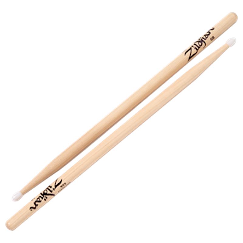 Zildjian Hickory 5B Sticks – Nylon Tip