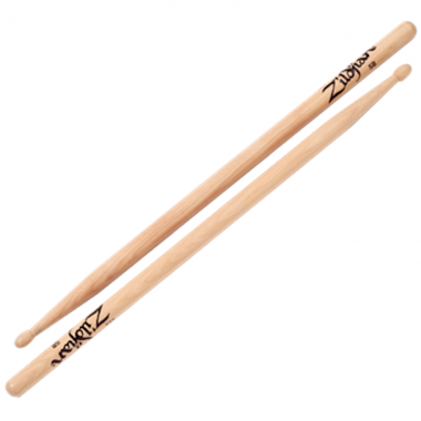 Zildjian Hickory 5B Dip Sticks – Wood Tip