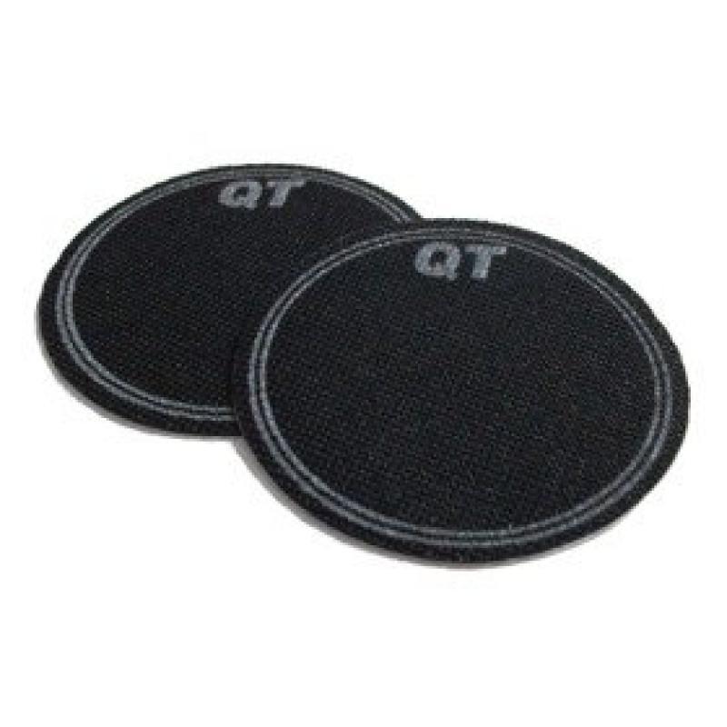 QT Single Bass Drum Patch – Black