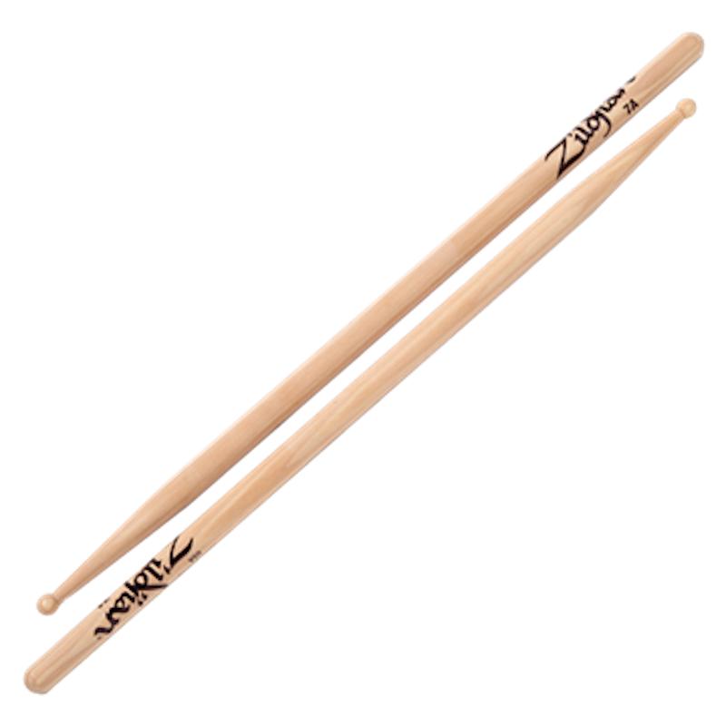 Zildjian Hickory 7A Sticks – Wood Tip