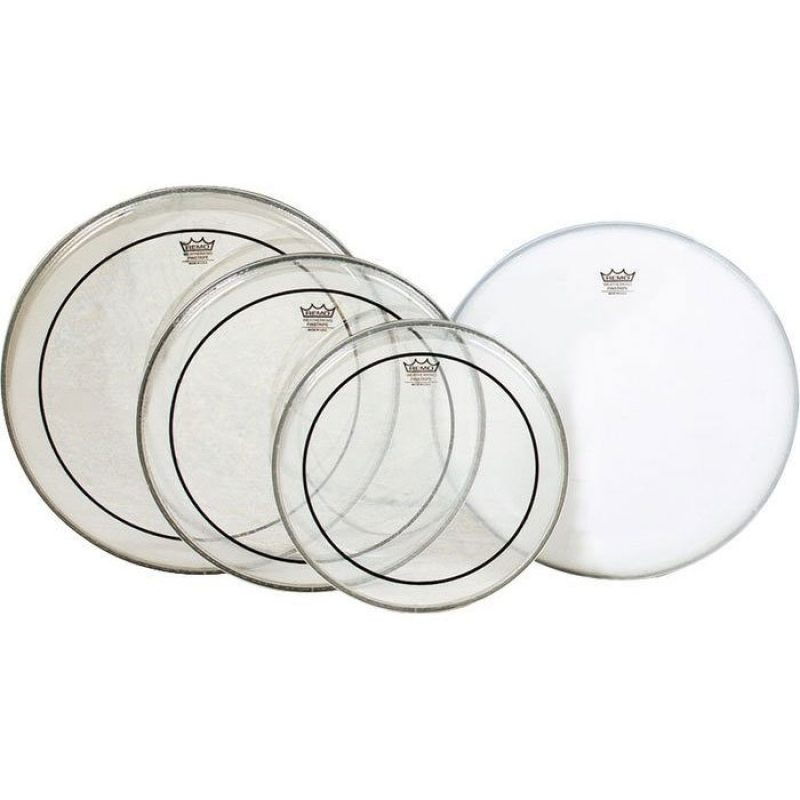 Remo Pinstripe Clear Rock Pro Pack