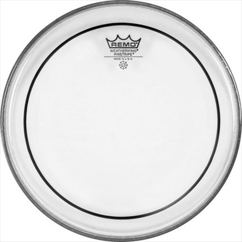 Remo Pinstripe Clear 12in Drum Head