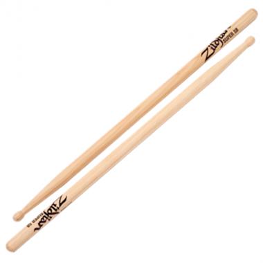 Zildjian Hickory Super 5B Sticks – Wood Tip