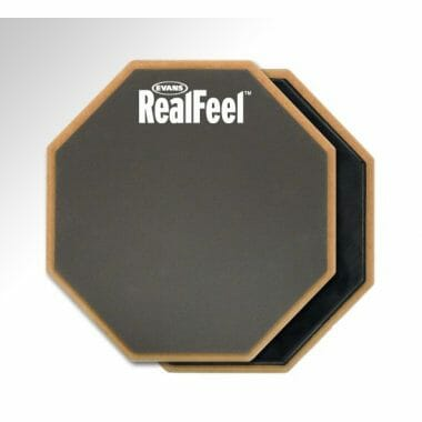Evans Real Feel 12in Double Sided Practice Pad