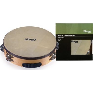 Stagg 10in Headed Tambourine