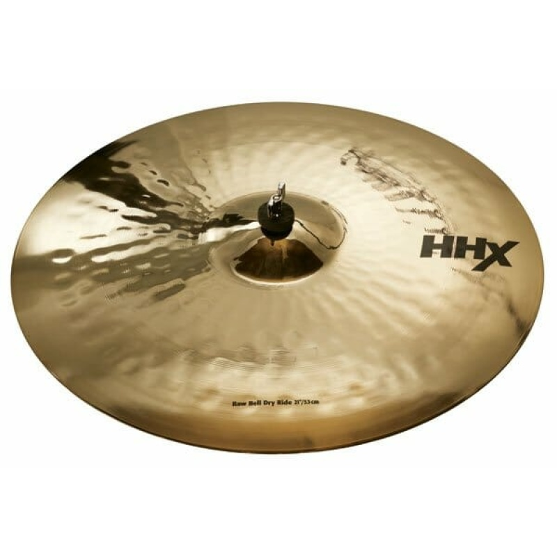 SABIAN HHX 21in Raw Bell Dry Ride – Brilliant