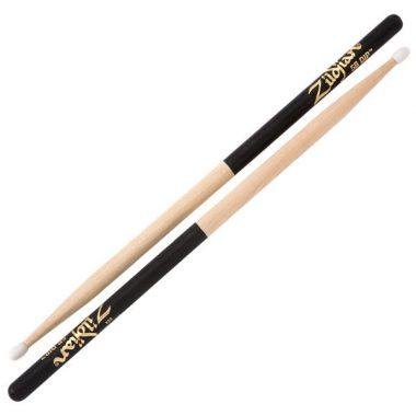 Zildjian Hickory 5B Black Dip Sticks – Nylon Tip