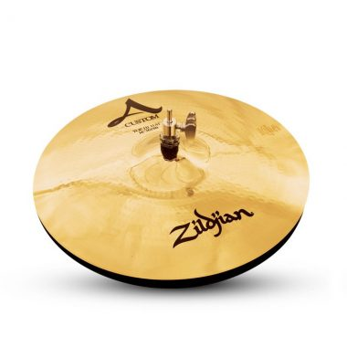 Zildjian A Custom 14in Hi Hat Pair Brilliant