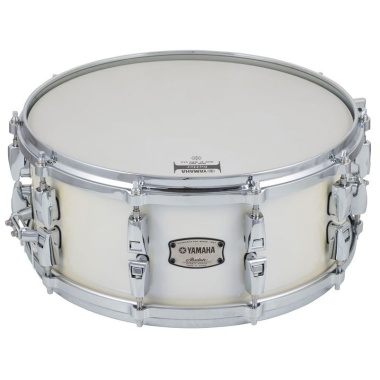 Yamaha 14x6in Absolute Hybrid Maple 14x6in Snare – Polar White