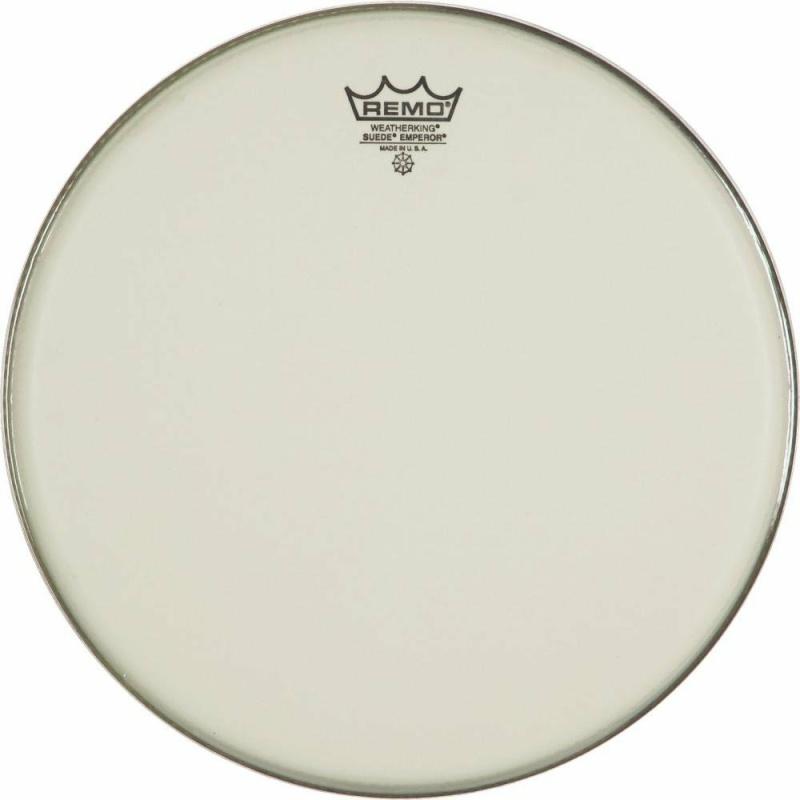 Remo White Suede Emperor 8in Drum Head