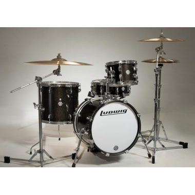 Ludwig Questlove Breakbeats kit – Black Gold Sparkle