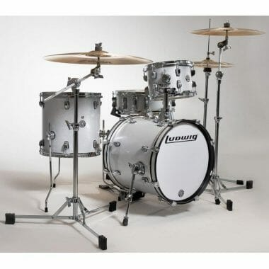 Ludwig Questlove Breakbeats kit – White Sparkle