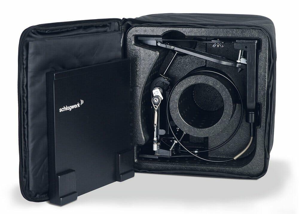 schlagwerk cap100 cajon pedal with bag drummers only. Black Bedroom Furniture Sets. Home Design Ideas
