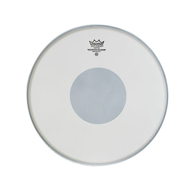 Remo Controlled Sound Coated 14in Drum Head with Black Dot