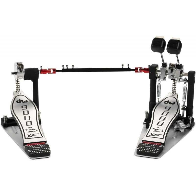 DW 9002XF Double Pedal with Extended Footboard