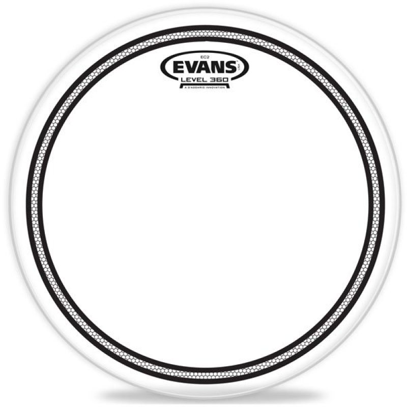 Evans EC2 Clear 18in Drum Head