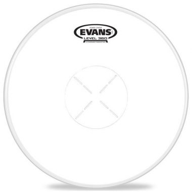 Evans Power Center Reverse Dot Coated 13in Drum Head