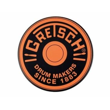 Gretsch Orange Logo Practice Pad – 6in