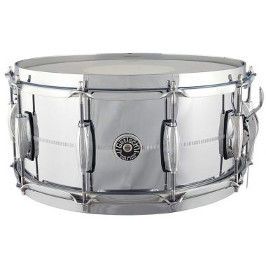 Gretsch Brooklyn 14×6.5in Chrome over Brass Snare