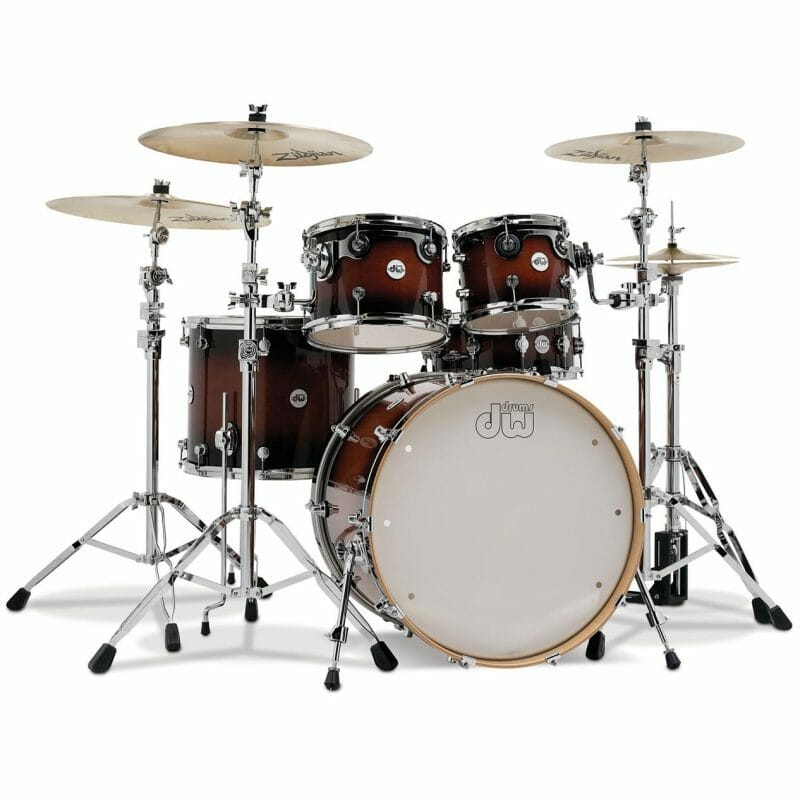 DW Design Series 22in 4pc Shell Pack – Tobacco Burst