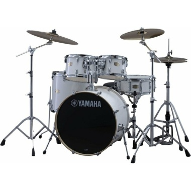 Yamaha Stage Custom Birch 22 5pc Shell Pack – Pure White