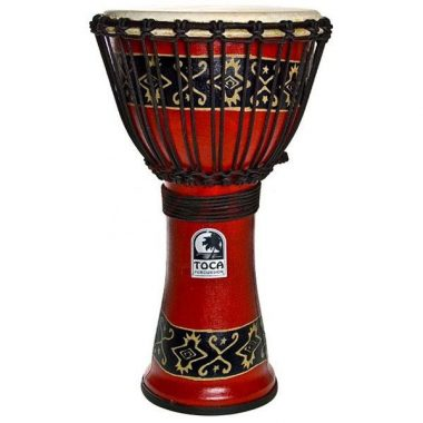 Toca Synergy Freestyle 9in Djembe – Bali Red