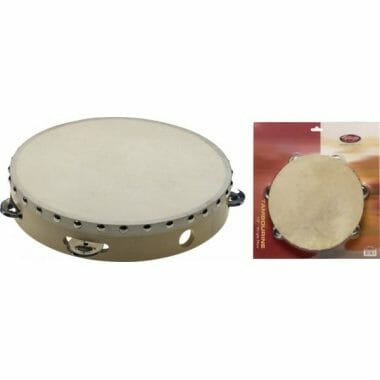 Stagg 10in Pretuned Wood Tambourine