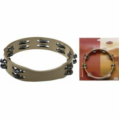 Stagg 10in Headless Wooden Tambourine