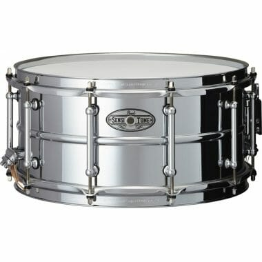 Pearl SensiTone 14×6.5in Steel Snare – STA1465S