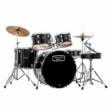 Mapex Tornado 22 Rock Fusion Drum Kit – Black