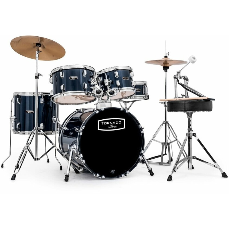 Mapex Tornado 18in Compact Drum Kit – Royal Blue