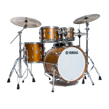Yamaha Recording Custom 4pc 20in Shell Pack – Real Wood