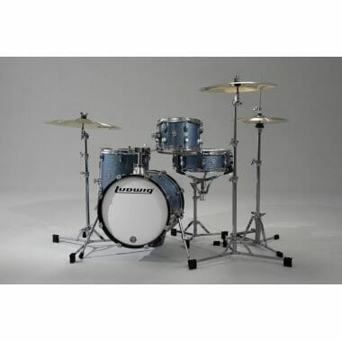 Ludwig Questlove Breakbeats kit – Azure Blue Sparkle