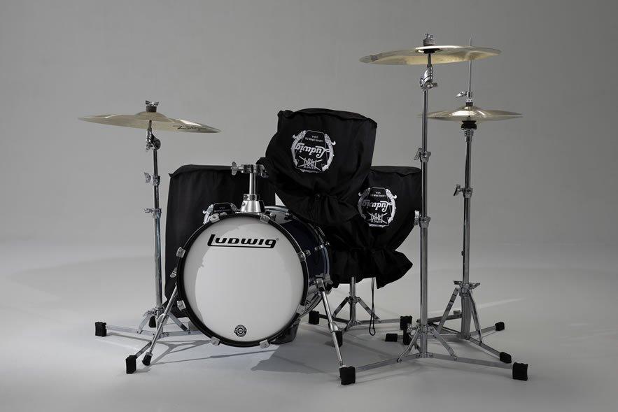 ludwig questlove breakbeats kit azure blue sparkle drummers only. Black Bedroom Furniture Sets. Home Design Ideas