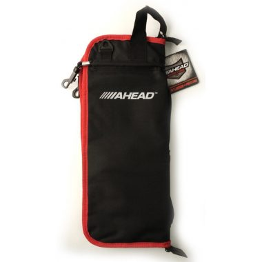 Ahead Stick Bag – Black with Red Trim