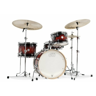 DW Design Series Frequent Flyer 4pc Shell Pack – Tobacco Burst