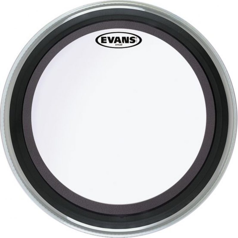 Evans EMAD 16in Clear Bass Drum Head