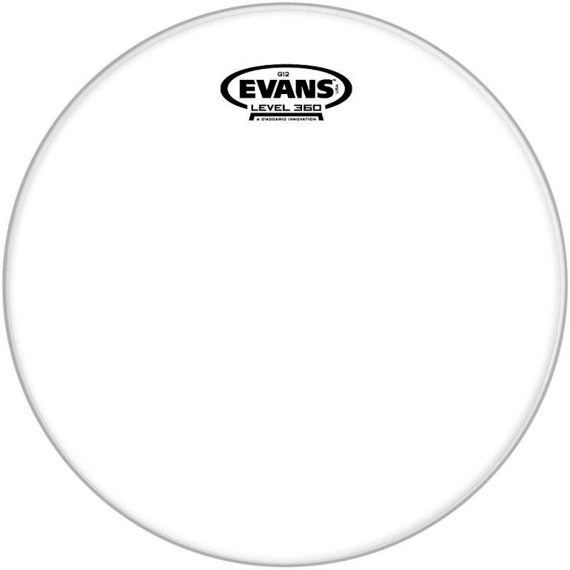 Evans G12 12in Clear Drum Head