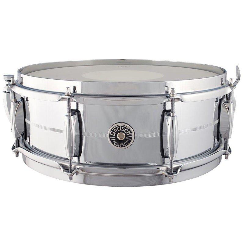 Gretsch Brooklyn 14x5in Chrome over Brass Snare