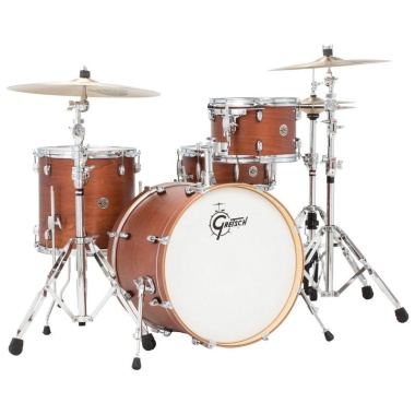 Gretsch Catalina Club 20in 4pc Shell Pack – Satin Walnut Glaze