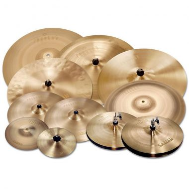 SABIAN PARAGON Complete Cymbal Set-Up – Brilliant